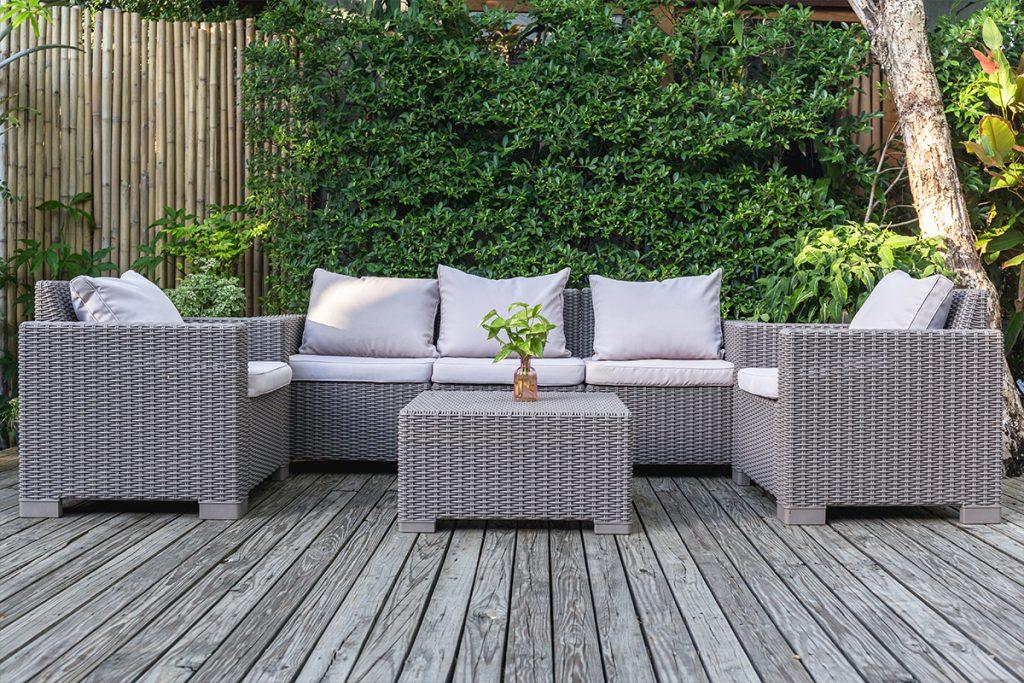 Salon de jardin pour profiter de son extérieur